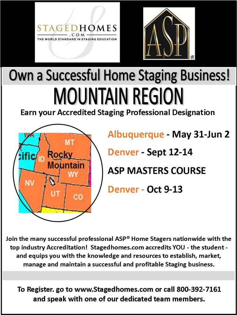 Mountain Region Classes Summer-Fall 2017