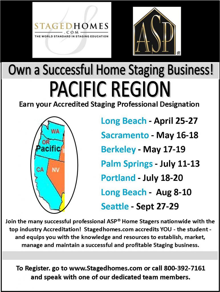 Pacific Region Classes Summer-Fall 2017
