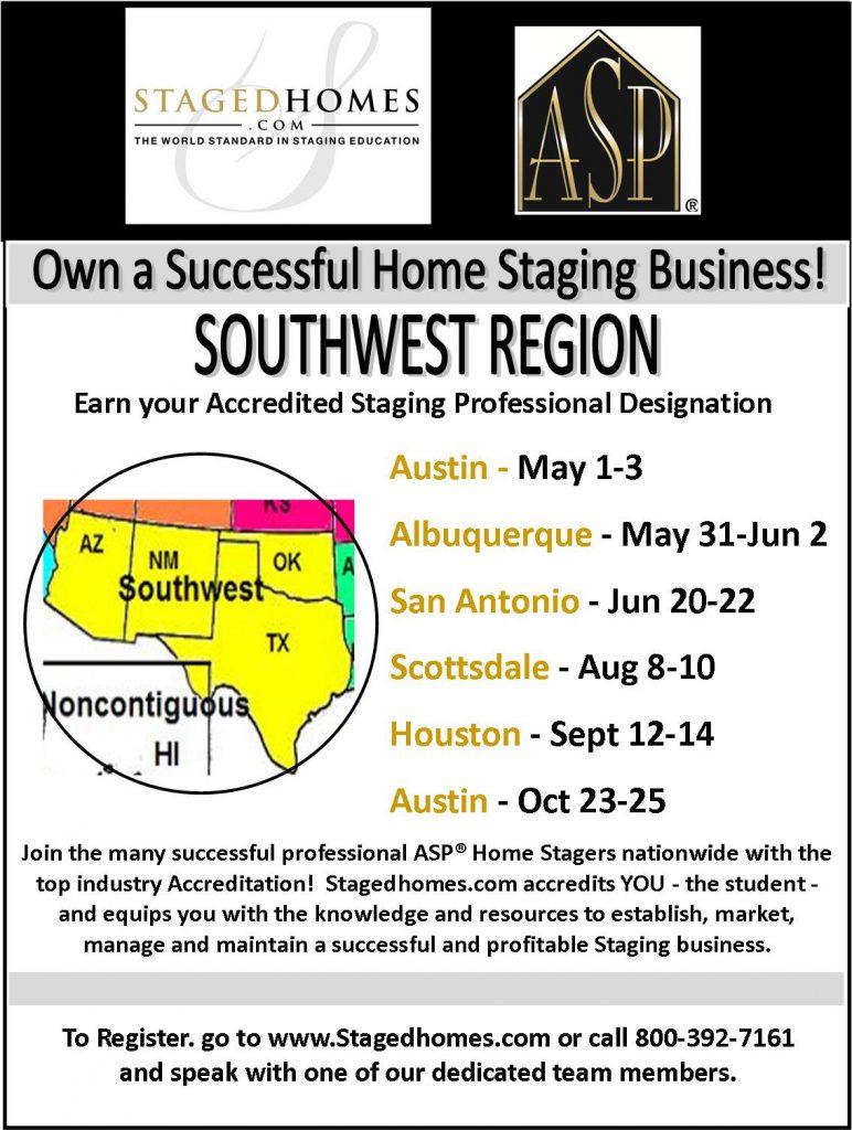 Southwest Region Classes Summer-Fall 2017