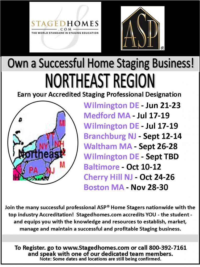 Northeast Region Classes Fall 2017