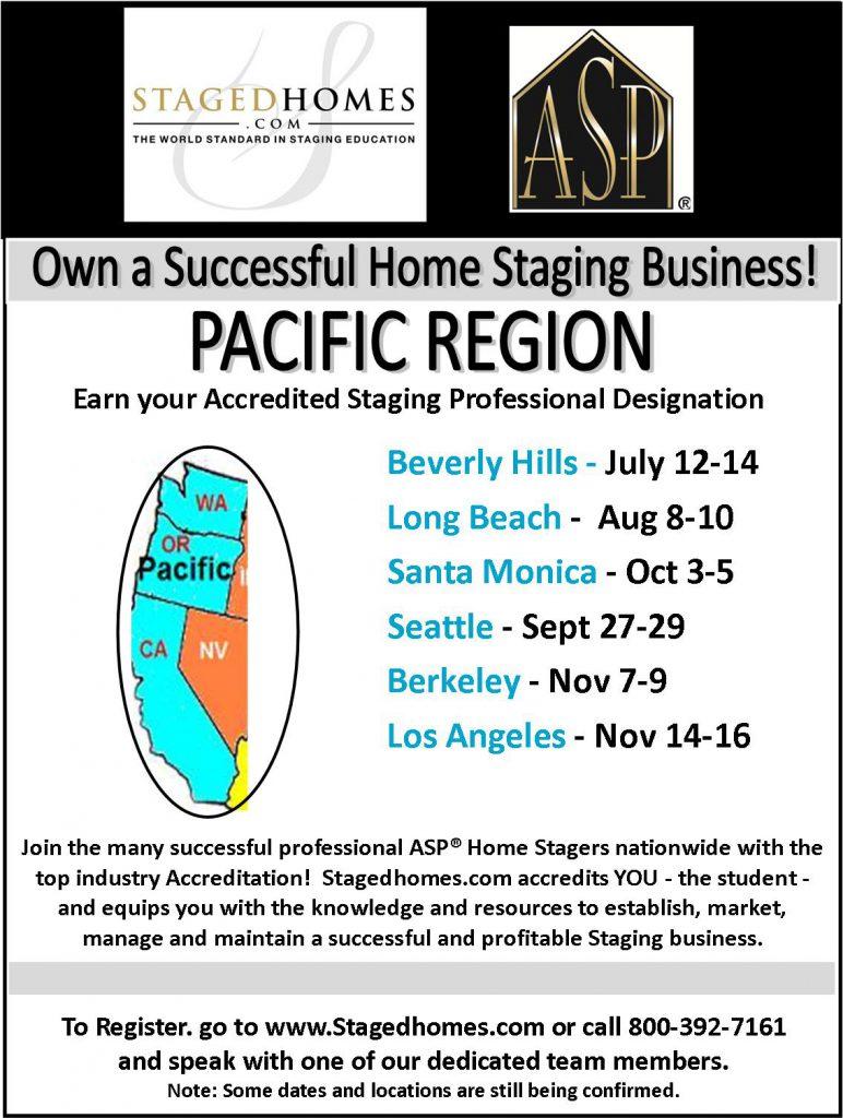 Pacific Region Classes Fall 2017