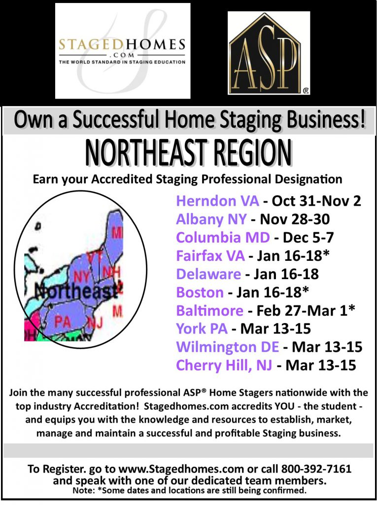 home staging business course training northeast region check out